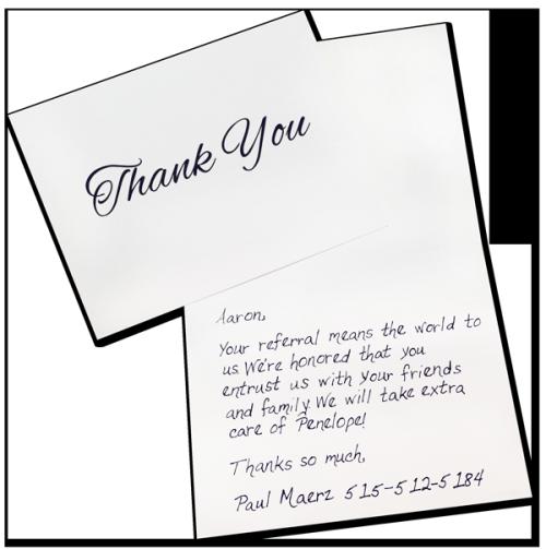Still Not Convinced On Sending Handwritten Cards Rocket Referrals