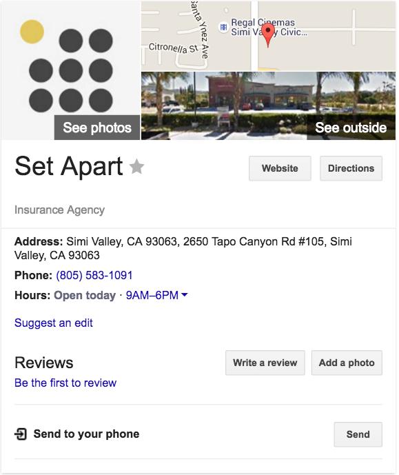 set apart 2