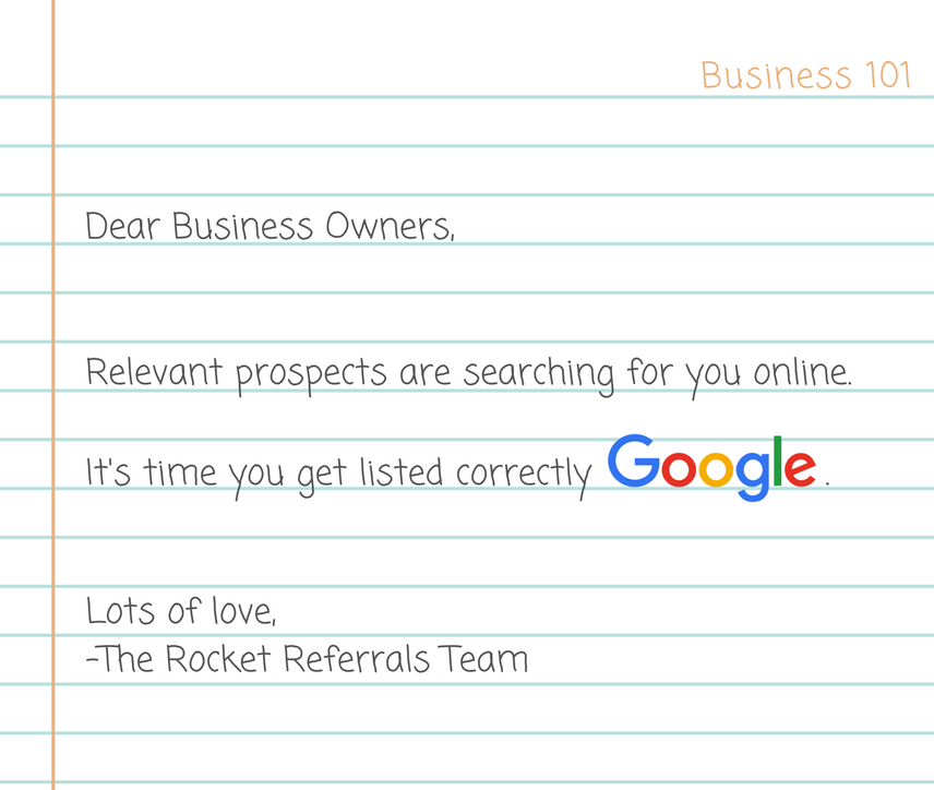 how to get listed on google search