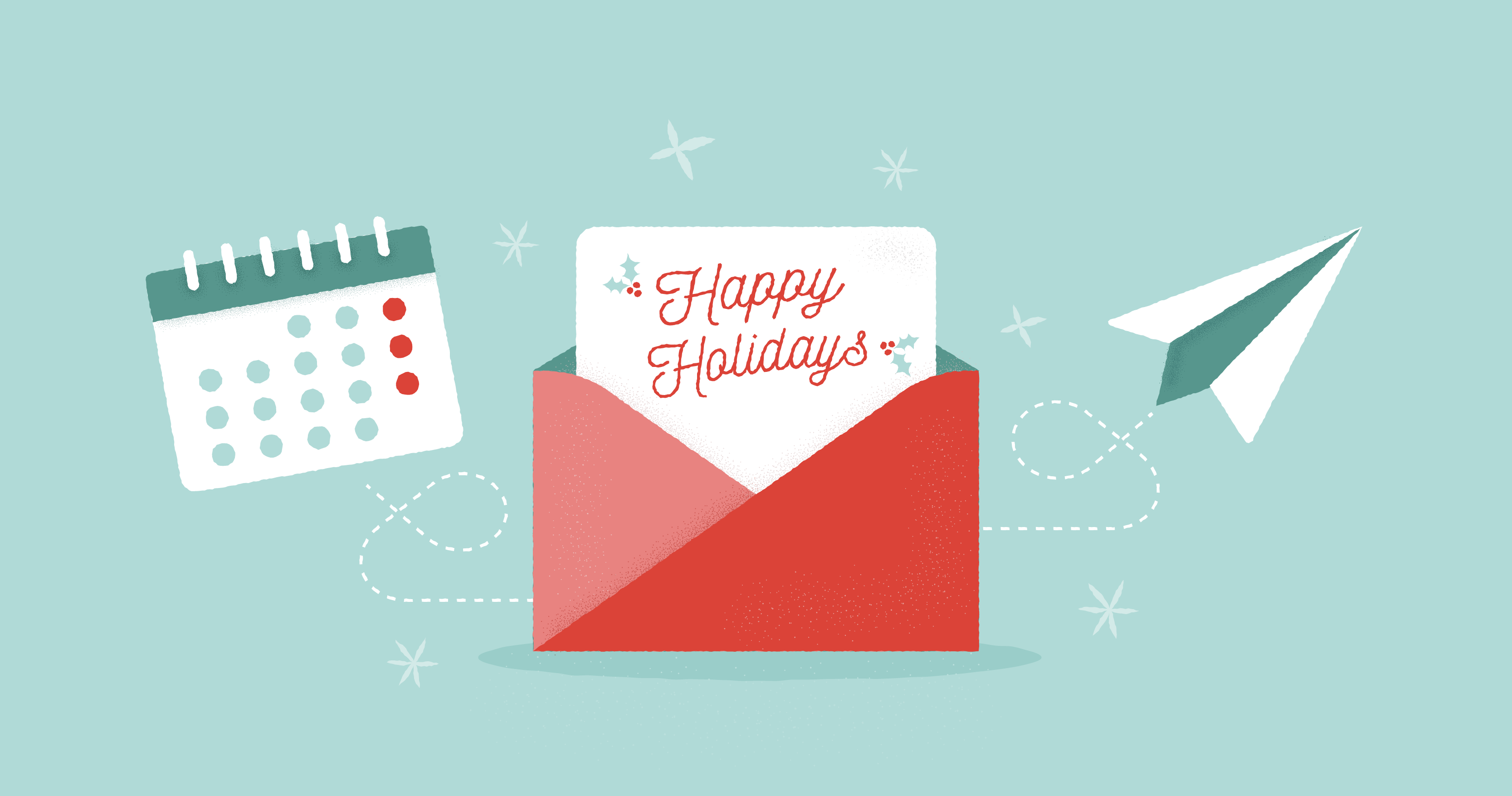 Here S Our 2019 Holiday Card Schedule Rocket Referrals