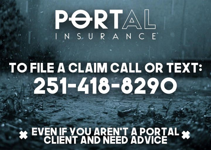contact info social media post example for insurance agencies