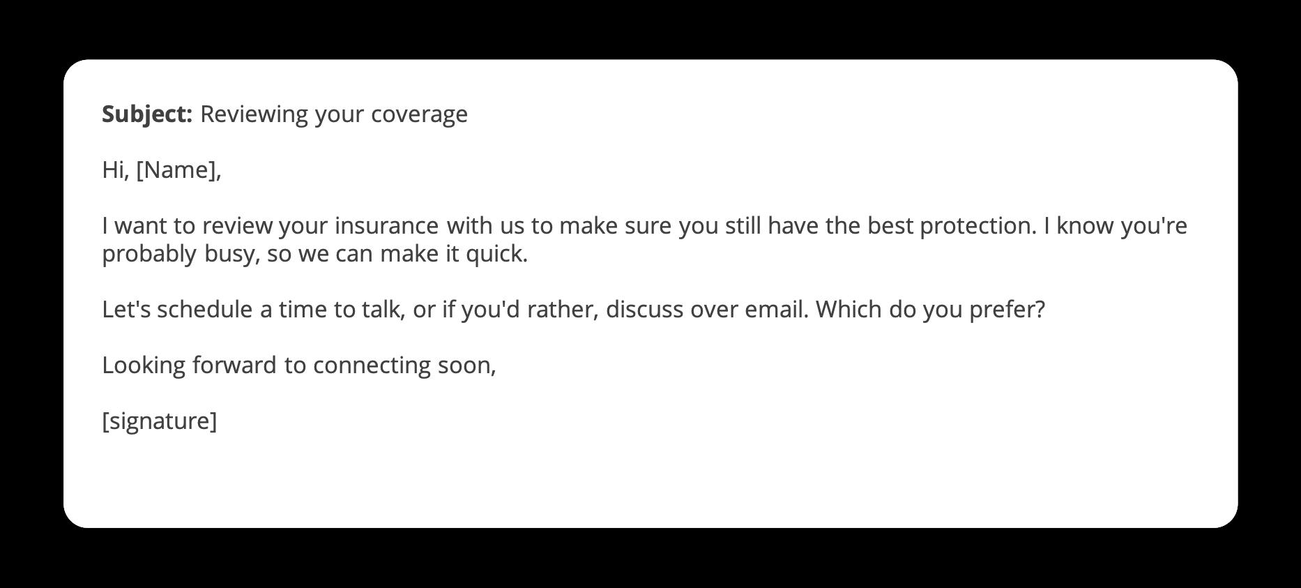 renewal email template