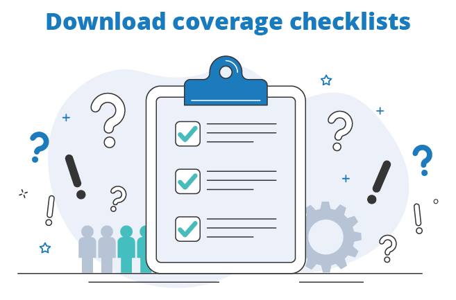 personal and commercial insurance coverage checklist